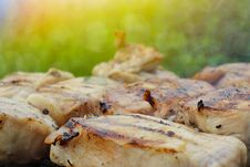 Free Grilled Pork Steak BBQ Royalty Free Stock Photo - 31311855