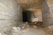 Free Odessa Catacombs Royalty Free Stock Photo - 31313865