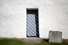 Free Old Church In Sweden Door Royalty Free Stock Image - 31316016