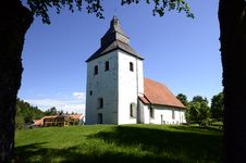 Free Old Church In Sweden Stock Images - 31316294