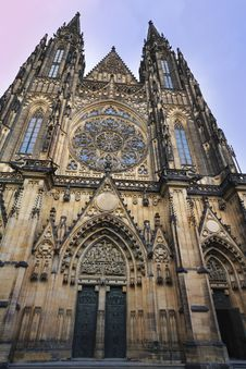 Free St Vitus Cathedral - Prague Castle Stock Photography - 31317082
