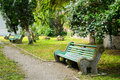 Free Old Bench In A Park Royalty Free Stock Image - 31322806