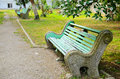 Free Old Bench In A Park Royalty Free Stock Images - 31322869