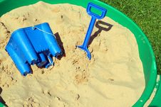 Free Childs Sand Pit. Royalty Free Stock Image - 31320166