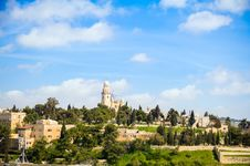 View On The Dormition Abbey Royalty Free Stock Photography