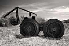 Free Abandoned Farm Equipment In Bodie State Park Royalty Free Stock Photos - 31329928