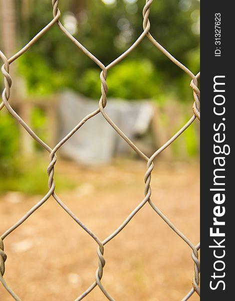 Wire mesh background
