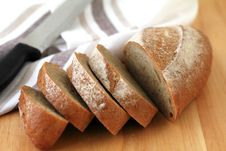 Free Baguette Slices Stock Photo - 31331270