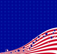 Free American Flowing Background Royalty Free Stock Images - 31337239