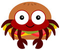 Free Crab Burger Stock Images - 31342354