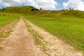 Free The Road To Mountain In Countryside With Clear Sky Royalty Free Stock Photos - 31344018