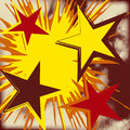 Free Grunge Background Of Explosion Star. Stock Photos - 31347003