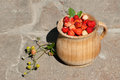 Free The Pot With Strawberry Royalty Free Stock Photos - 31347278