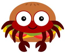 Free Crab Burger Stock Images - 31342354