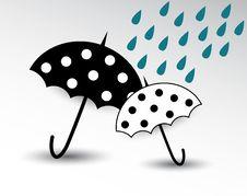 Free Cartoon Umbrella Stock Images - 31346794