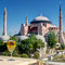 Free View Of The Hagia Sophia From The Restaurant, Istanbul Stock Photo - 31349060