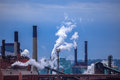Free Smoking Chimney-stalks Of Industrial Plant Stock Photo - 31355650