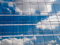 Free Clouds Reflected Royalty Free Stock Image - 31358126