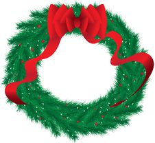 Free Wreath Royalty Free Stock Image - 31355926