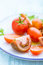 Free Plate With Assorted Tomatoes Stock Images - 31351164