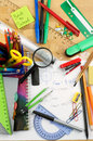 Free School Supplies Royalty Free Stock Image - 31362946