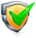 Free Check Mark On Shield Stock Image - 31365081