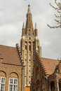 Free Bell Tower Of Our Lady Church In Brugge - Belgium. Royalty Free Stock Photo - 31365905
