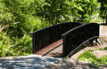 Free Pedestrian Bridge In City Park Stock Photos - 31367763