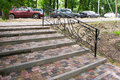 Free Staircase With Steps Of Paving Slabs Stock Images - 31367774