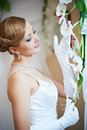 Free Bride With Flowers Stock Photo - 31367930
