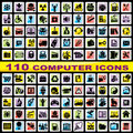 Free Set Computer Icons Royalty Free Stock Photos - 31369948