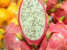 Fresh Pattaya Fruit Closeup Stock Photo