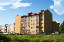 Multi-storey Residential Building Stock Photo