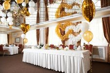 Free Wedding Table Royalty Free Stock Image - 31368906
