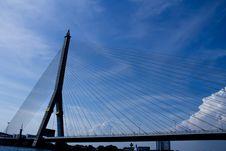 Free Rama VIII Bridge Stock Image - 31370061