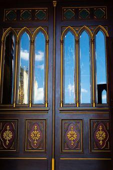 Free Church Doors Stock Image - 31374141