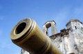 Free Porta De Santiago And Replica Cannon Stock Photo - 31381770