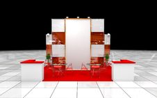 Free Modern Exhibition Stand Stock Photos - 31382813