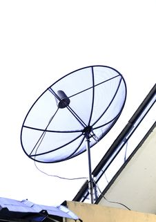 Free Satellite Dish Royalty Free Stock Photo - 31382815