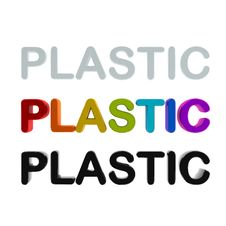 Plastic Letters Royalty Free Stock Image