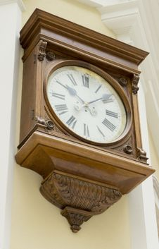 Free Old Clock Royalty Free Stock Photography - 31384967