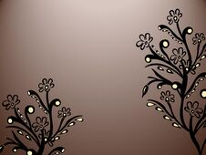 Free Floral Abstraction Royalty Free Stock Photography - 31385167