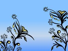 Free Floral Abstraction Royalty Free Stock Image - 31385176
