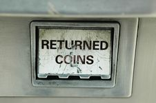 Free Returned Coins Royalty Free Stock Image - 31388656