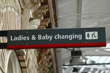 Free Ladies & Baby Changing Royalty Free Stock Image - 31388686
