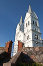 Free Details Of The Exterior Modern Church  In Small Town Near Braslaw, Belarus Shot In Perspectives Stock Photography - 31392492