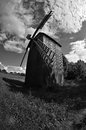 Free Old Wooden Windmill. Stock Photo - 31396430