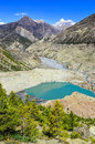 Free Himalayas Mountain Peaks And Lake In The Foreground Stock Images - 31398504