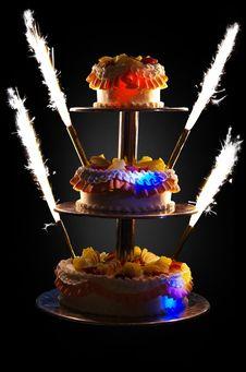 Free Wedding Cake Stock Photos - 31390353
