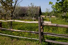Free An Old Wooden Fence Stock Images - 31392064